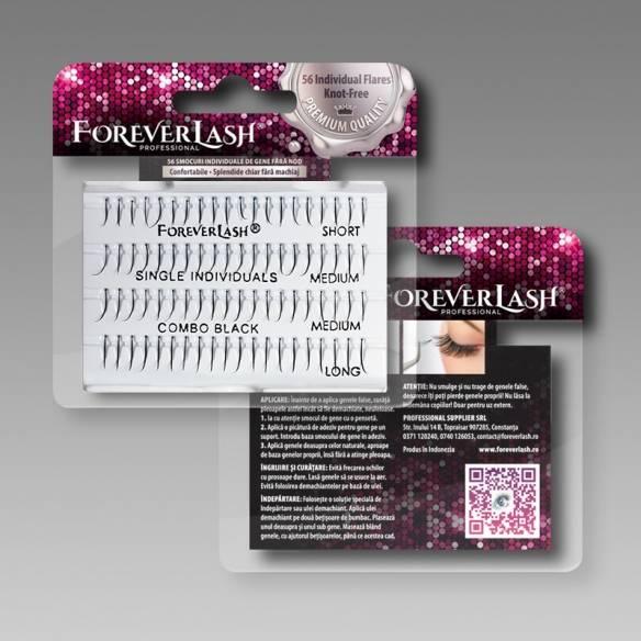 Gene false Individuale Foreverlash fara nod Single Combo