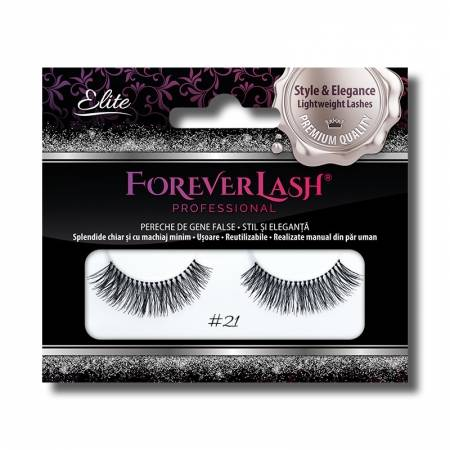 Gene false banda din par natural Foreverlash 21 Sweety Girl