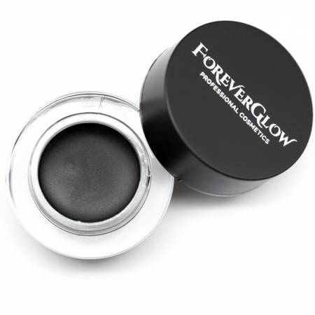Fard de pleoape cremos ForeverGlow Aqua Cream Eyeshadow 10 - Deep Black