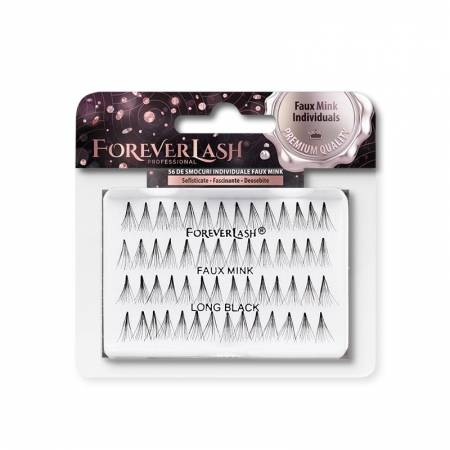 Gene false Individuale Foreverlash FAUX MINK fara nod Lungi