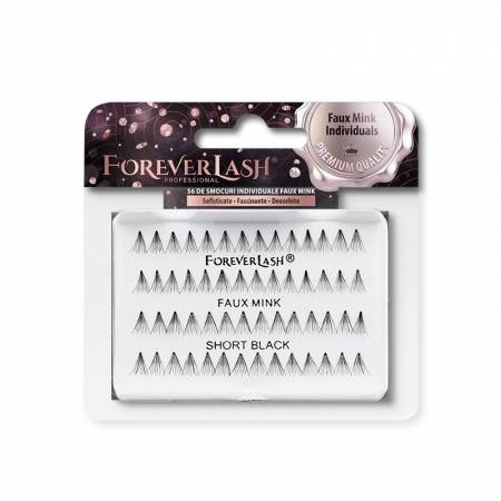 Gene false Individuale Foreverlash FAUX MINK fara nod Scurte