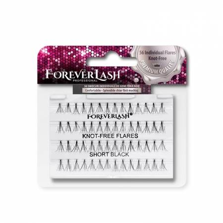 Gene false Individuale Foreverlash fara nod Scurte
